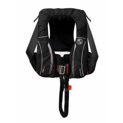 Kru Sport Pro 275 ADV Automatic Lifejacket with Harness, Hood & Light in Carbon